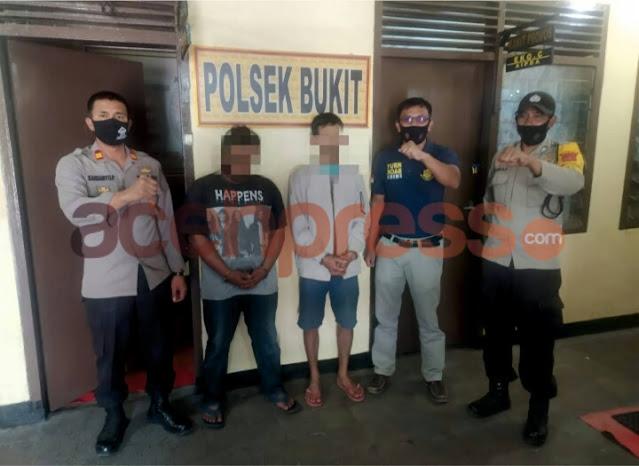 Polisi Tangkap dua Pelaku Curanmor di Bener Meriah
