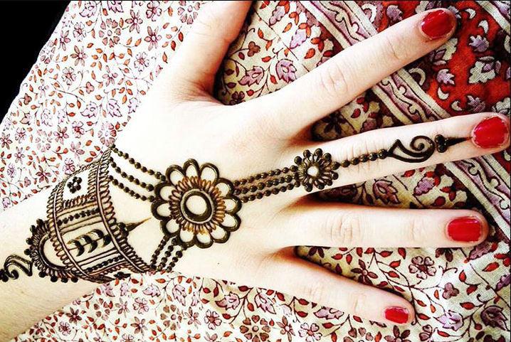Mehndi For Girls Easy : Beautiful eid mehndi designs for girls lagao