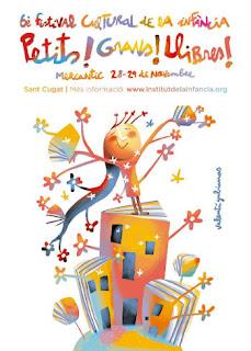 cartel festival Petits Grans Llibres, sant cugat vallés