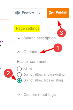 blogger-blog-page-settings