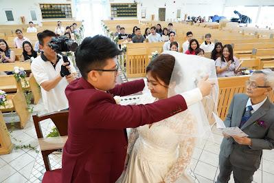 unveiling bride