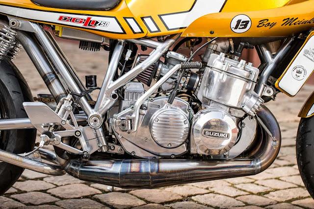 Suzuki EGLI GT750 By Extremebikes Hell Kustom