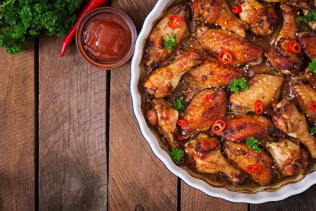 Мой любимый рецепт куриных крылышек