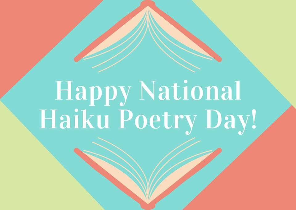 National Haiku Poetry Day Wishes pics free download