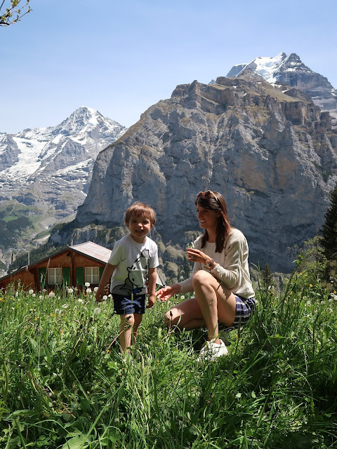 Murren Lauterbrunnen Suiza
