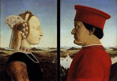 ritratto duchi montefeltro Piero Francesca