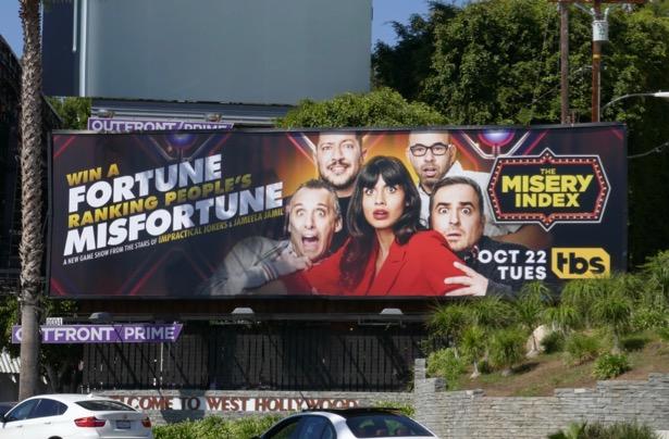 Misery Index series premiere billboard