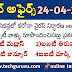 Current affairs telugu test-3