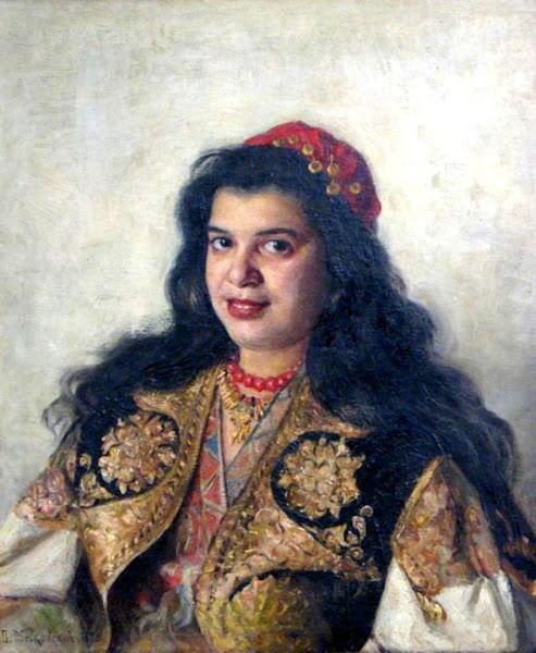 Маковский Владимир Егорович - Цыганка. 1875