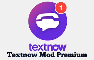 TextNow Mod Premium Full APK Terbaru Download di Android