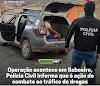 """Em Saboeiro Policia Civil realiza """"Operação Carcará 2"""" e prende nove pessoas."""