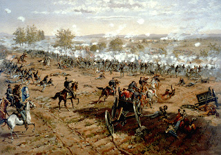 Battle of Gettysburg Pickett's Charge clipart