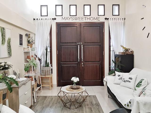 Desain Pintu Utama Rumah Minimalis 2 Pintu Dari Kayu