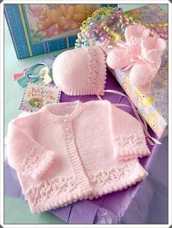 Örgü Bebek Hırka Modelleri 9