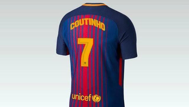Coutinho 'Pilih' Nomor 7 di Barcelona, Ini Bocoran Jersey-nya