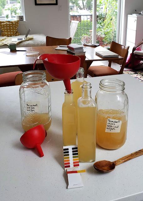 Styrax vinegar testing pH