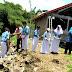 Air Bah Sungai Pereng Hanyutkan Pagar SMP Negeri II Prambanan. Kerugian Sekitar 110 Juta Rupiah.