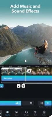 أفضل برنامج لتحرير الفيديو للآيفون IPHONE