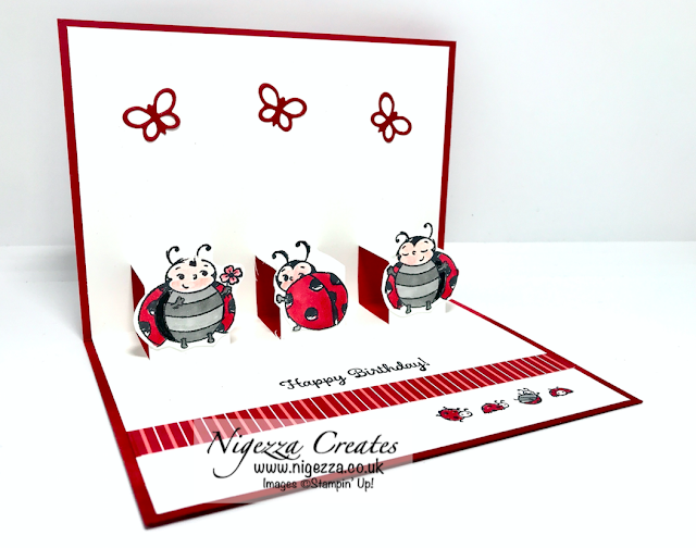 Nigezza Creates with Stampin' Up! and Little Ladybug