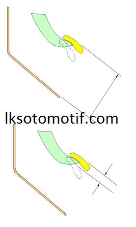 prosedur penyetelan pedal kopling
