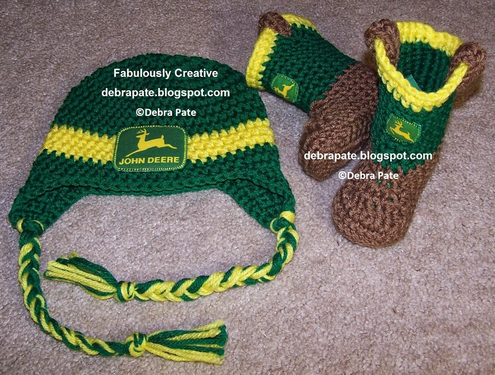 Fabulously Creative: CROCHET JOHN DEERE TRACTOR INSPIRED ...