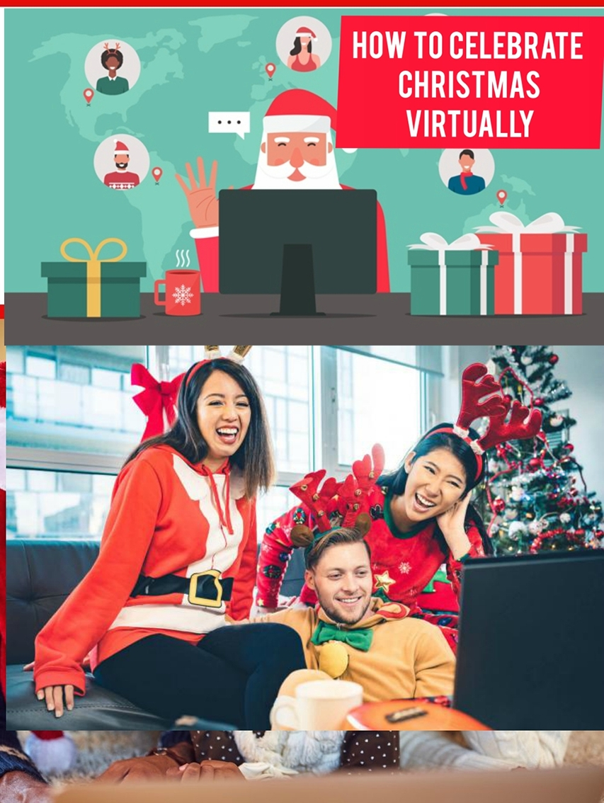 How to celebrate Christmas virtually