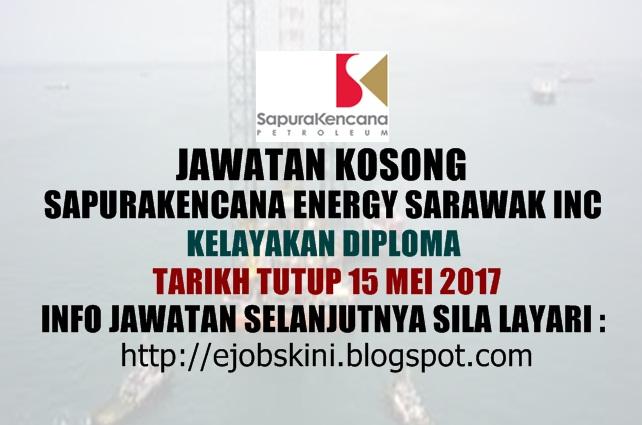 Jawatan Kosong SapuraKencana Energy Sarawak Inc Mei 2017