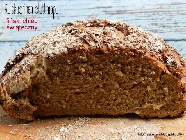 Ruiskuorinen olutlimppu – fiński chleb świąteczny - grudniowa piekarnia