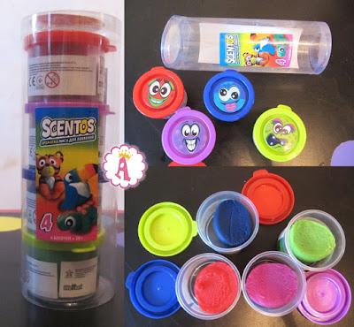Детский пластилин Scentos WeVeel