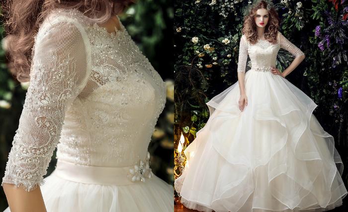 long wedding dresses uk