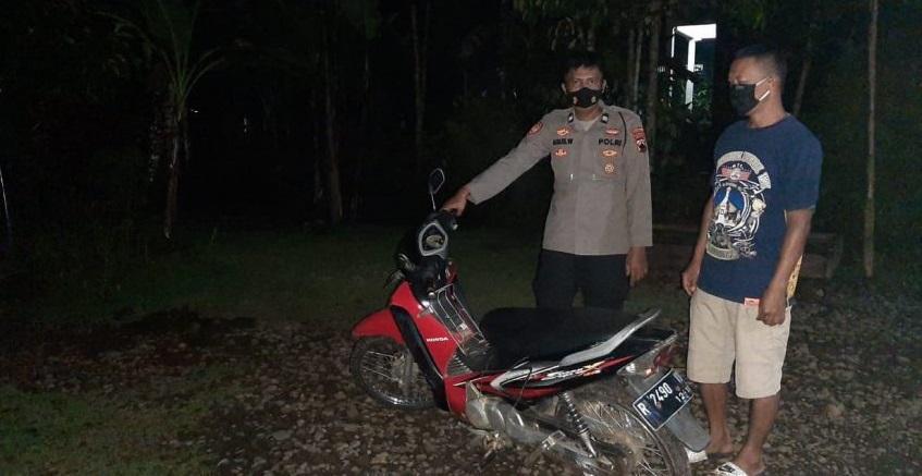 Polisi Buru Pemilik Sepeda Motor Misterius di Purbalingga
