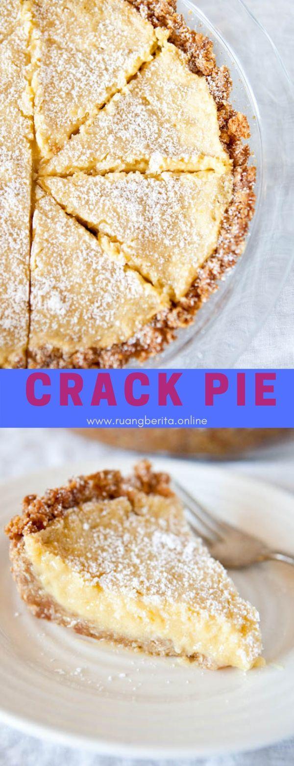 Crack Pie #dessert #crack #pie