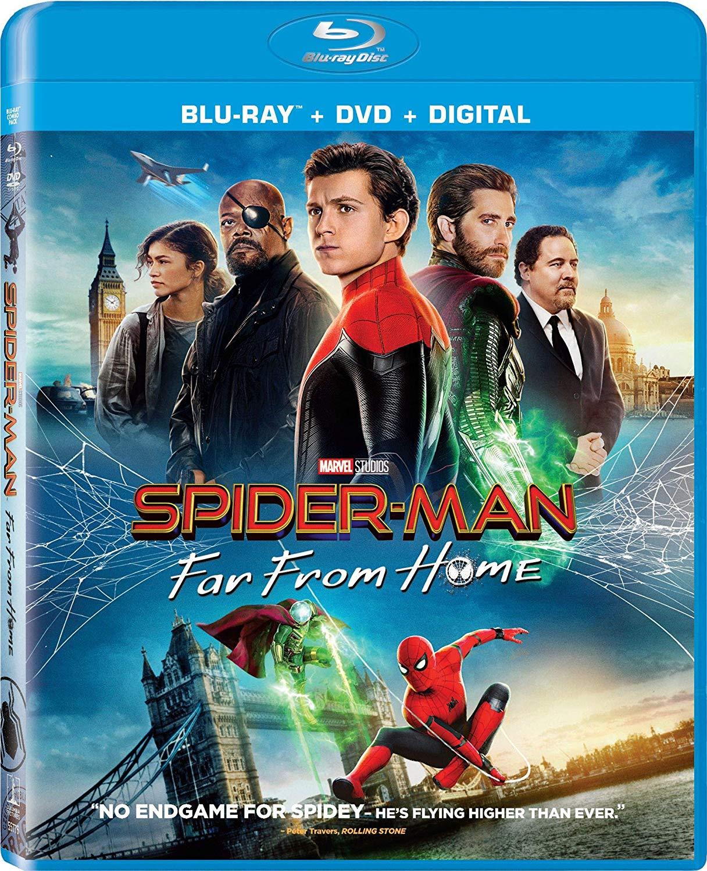 Descargar Spider Man Lejos De Casa 1080p Blu-ray Cover Caratula