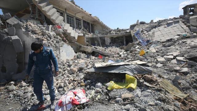 EEUU admite su papel en la muerte de cientos de civiles en Mosul