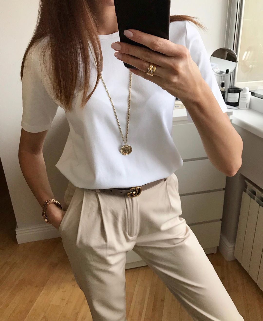 Elevated Basics Make a Chic Spring Outfit