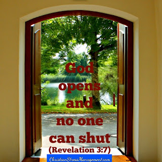God opens and no one can shut Revelation 3:7