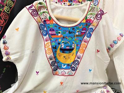 Mexican Artisan Clothing from Santa Cruz, Tzintzuntzan, Michoacan