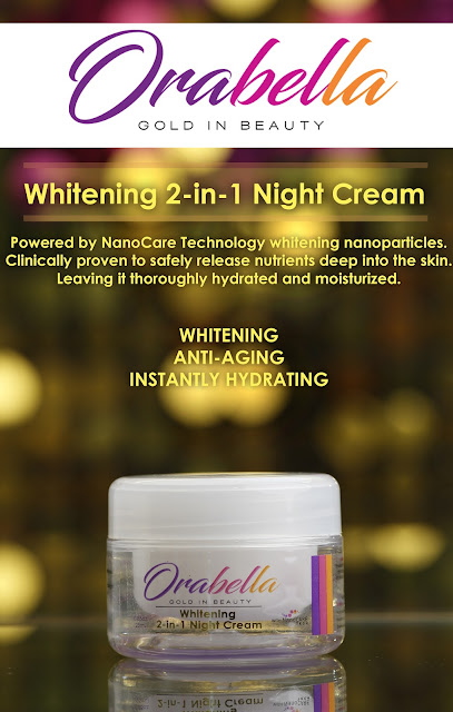 Orabella Whitening 2-in-1 Night Cream