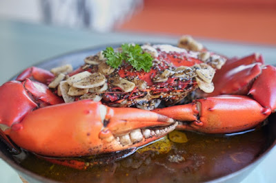Black Pepper Crab at Oyster Bay Seafood Restaurant