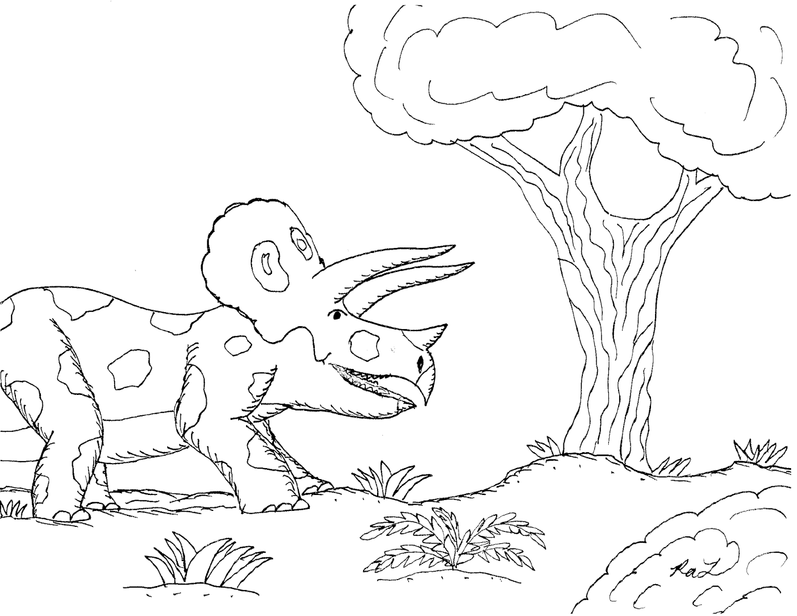 Robin S Great Coloring Pages Types Of Dinosaurs Worksheet