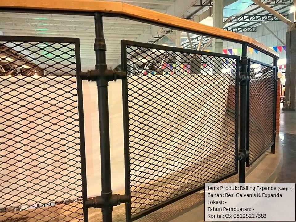 Jasa Pembuatan Pagar Railing Expanda