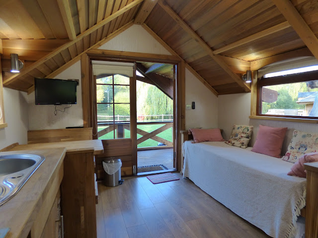 glamping UK holiday oxfordshire swiss farm camping hideout house