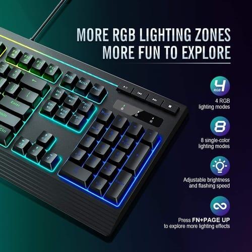 Review PICTEK RGB Gaming Keyboard