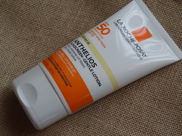 La Roche Posay Anthelios 50 Mineral Sunscreen-Gentle Lotion with CELL-OX Shield