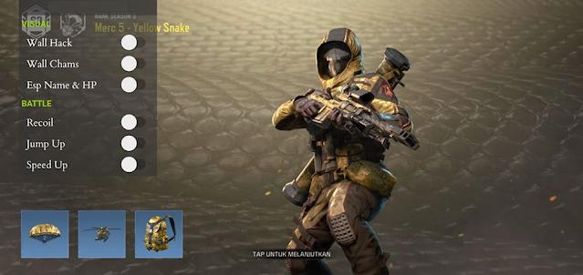 Cheat Call of Duty Global Mobile Mod Hack VIP Pekalongan Anti Banned Terbaru Hack 2021