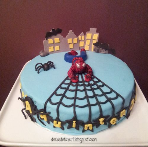 Uitzonderlijk De zoete taart: Spiderman #FJ74