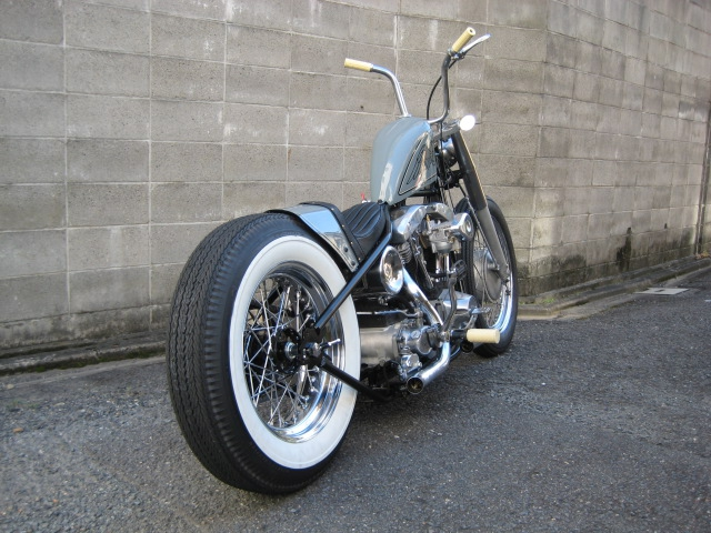 Harley Davidson Shovelhead 1984 By Luck Motorcycles Hell Kustom