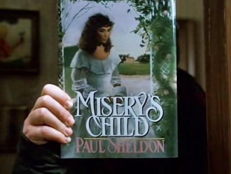 Portada del libro El hijo de Misery, de Paul Sheldon - Cine de Escritor