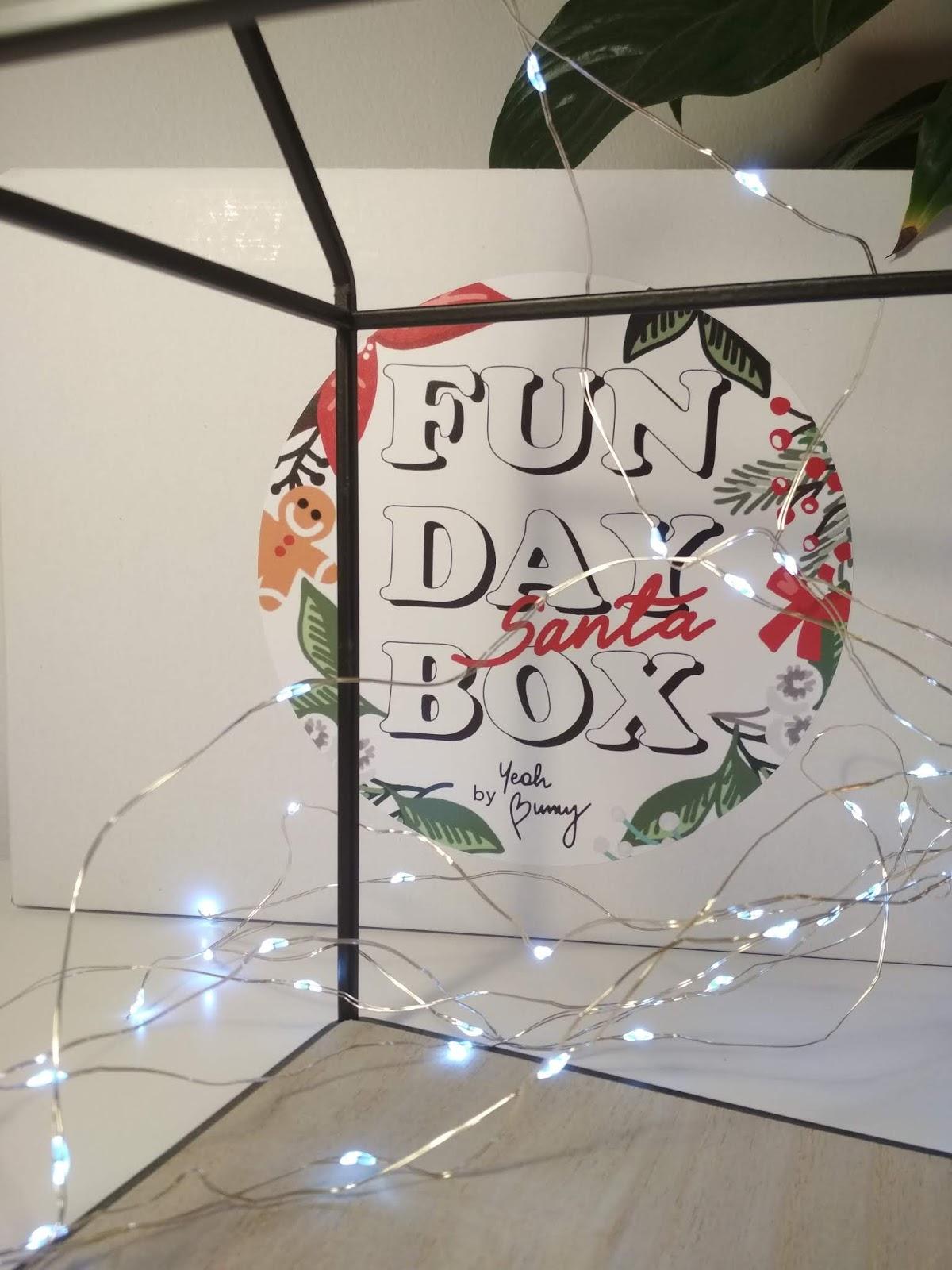 Fun Day Box Santa - zawartość pudełka i moje pierwsze wrażenia