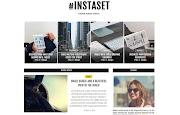 (Free)(Premium) Instaset Blogger Template Themes